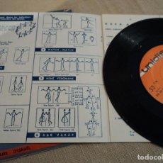 Discos de vinilo: DANSES D'ISRAEL - EP - CANTA: D. HAYKIN CON FOLLETO DE BAILE. Lote 140249350