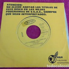 Discos de vinilo: SPIRIT – CADILLAC COWBOYS - SINGLE 1972. Lote 140250454