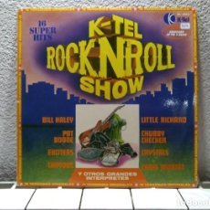 Discos de vinilo: K-TEL ROCK AND ROLL SHOW. Lote 140251466