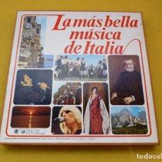 Discos de vinilo: 8X LP LA MAS BELLA MUSICA ITALIANA PATTY PRAVO RICCHI E POVERI LUCCIO BATTISTI Ç. Lote 140252206
