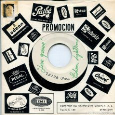 Discos de vinilo: EDISON LIGHTHOUSE / LOVE GROWS (TESS PRESSING) SOLO UNA CARA. Lote 140254066