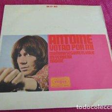 Discos de vinilo: ANTOINE – VOTAD POR MI + 3 - EP 1966. Lote 140256174