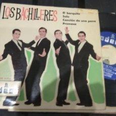 Discos de vinilo: EP MUY RARO !!! LOS BACHILLERES EL BARQUITO ODEÓN 1963 (EP PERDIDO DE JUAN Y JUNIOR???) BUEN ESTADO. Lote 140227950