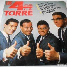 Discos de vinilo: 4 DE LA TORRE, LOS, EP, MAS ALLÁ + 3, AÑO 1965. Lote 140274902