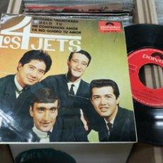 Discos de vinilo: LOS 4 JETS EP GUITARRA ENAMORADA + 3 1964. Lote 140279192