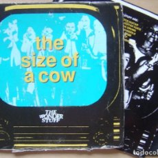 Discos de vinilo: THE WONDER STUFF – THE SIZE OF A COW - SINGLE UK 1991 - POLYDOR. Lote 140281070