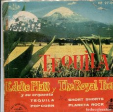 Discos de vinilo: EDDIE PLATT & THE ROYAL TEENS / TEQUILA + 3 (EP 1959). Lote 140252866