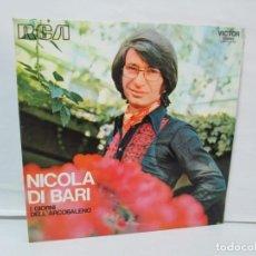 Discos de vinilo: NICOLA DI BARI. I GIORNI DELL´ARCOBALENO. LP VINILO. RCA 1972. VER FOTOGRAFIAS ADJUNTAS. Lote 140286318