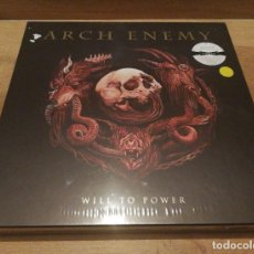 Discos de vinilo: ARCH ENEMY - WILL TO POWER - LTD. ED. DELUXE BOXSET - LP+CD+EP NEW SEALED 2017. Lote 140286690