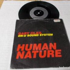 Discos de vinilo: HUMAN NATURE. GARY CLAIL. . Lote 140292914