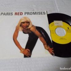 Discos de vinilo: PARIS RED PROMISES.. Lote 140293762