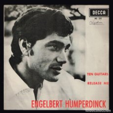Discos de vinilo: ENGELBERT HUMPERDINCK. TEN GUITARS. ME 301 DECCA 1966 DISCO. Lote 140295090
