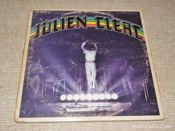 JULIEN CLERC - CARPETA TRIPTICA , 3 LPS - ED. FRANCESA - 1977 (Música - Discos - LP Vinilo - Canción Francesa e Italiana)