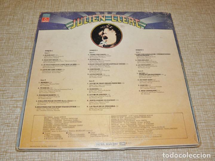 Discos de vinilo: JULIEN CLERC - CARPETA TRIPTICA , 3 LPS - ED. FRANCESA - 1977 - Foto 5 - 140308566