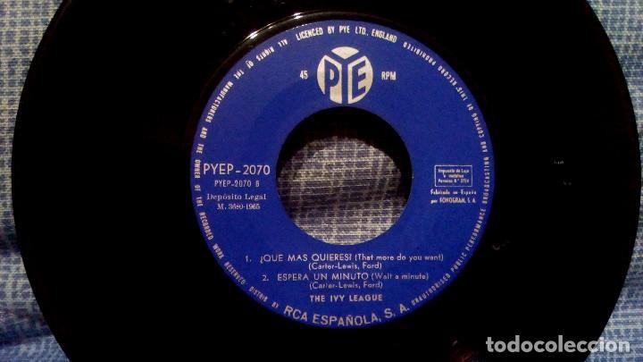 Discos de vinilo: THE IVY LEAGUE - A LO QUE PUEDE LLEGAR EL AMOR + 3 - EDICION ESPAÑOLA - PYE 1965 ESTADO COMO NUEVO - Foto 6 - 140314766