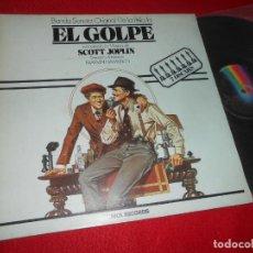 Discos de vinilo: EL GOLPE BSO OST SCOTT JOPLIN LP 1981 MCA EDICION ESPAÑOLA SPAIN PAUL NEWMAN&ROBERT REDFORD. Lote 140316330