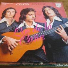 Discos de vinilo: LOS DE LA CAÑA - CELOS ************** RARO SINGLE RUMBA 1975 GRAN ESTADO. Lote 140318650