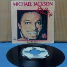 Discos de vinilo: MICHAEL JACKSON - ONE DAY IN YOUR LIFE 1981. Lote 140338988