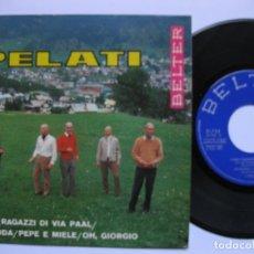 Discos de vinilo: I PELATI - EP SPAIN PS - MINT * COME I RAGAZZI DI VIA PAAL. Lote 140346874