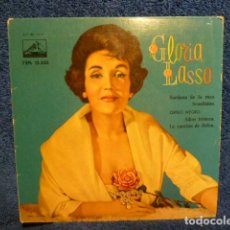 Discos de vinilo: GLORIA LASSO -SARDANA DE LA ROSA -Y 3 MAS. Lote 140350298