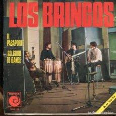 Discos de vinilo: LOS BRINCOS. EL PASAPORTE. SP. NOVOLA 1967.. Lote 140351154