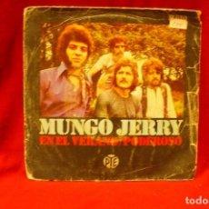 Discos de vinilo: MUNGO JERRY -- EN EL VERANO / PODEROSO, PYE, HISPAVOX, 1970.. Lote 140363978