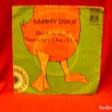 Discos de vinilo: SAMMY DUCK -- DUCK N' ROLL / SAMMY'S CHA CHA, EMI, 1975.. Lote 140365494