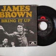 Discos de vinilo: DISCO VINILO SINGLE , JAMES BROWN , BRING IT UP , NOBODY KNOWS .... Lote 140374766