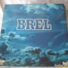 Discos de vinilo: JACQUES BREL  BREL . Lote 140376810