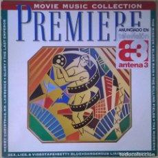 Discos de vinilo: PREMIERE-THE MOVIE MUSIC COLLECTION, VIRGIN-LL-211 157. Lote 140379142