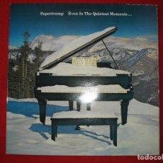 Discos de vinilo: SUPERTRAMP - EVEN IN THE QUIETEST MOMENTS. LP VINILO. Lote 140384886