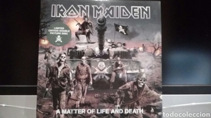 IRON MAIDEN A MATTER OF LIFE AND DEATH (Música - Discos - LP Vinilo - Heavy - Metal)