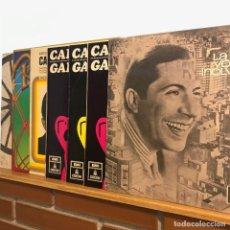 Discos de vinilo: CARLOS GARDEL _PACK 7LP. Lote 140390090