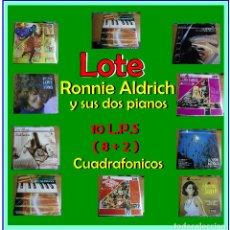 Discos de vinilo: RONNIE ALDRICH Y SUS DOS PIANOS - DECCA PFS 4108 -----AÑO 1967----A ESTRENAR. Lote 140390990