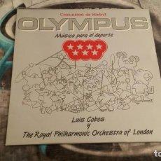 Discos de vinilo: OLYMPUS (COMUNIDAD AUTONOMA OLYMPUS, MUSICA PARA EL DEPORTE) - CBS 450879-1 - 1987. Lote 140391518