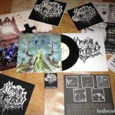 Discos de vinilo: MORTAL MUTILATION 7 EP KATIE KING ,SPANISH DEATH 1993 ULTRA RARE COPY 835-UNBOUNDED TERROR-NOPRESION. Lote 140391614