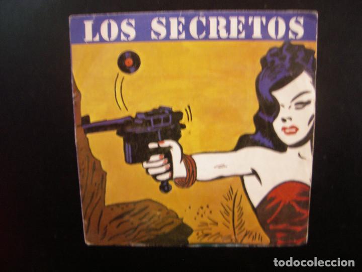 LOS SECRETOS- NO ME IMAGINO. SINGLE. (Música - Discos - Singles Vinilo - Grupos Españoles de los 70 y 80)