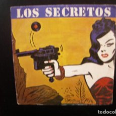 Discos de vinilo: LOS SECRETOS- NO ME IMAGINO. SINGLE.. Lote 140399306