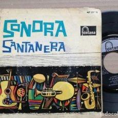 Discos de vinilo: SONORA SANTANERA EN UN BOTE DE VELA. Lote 140402378