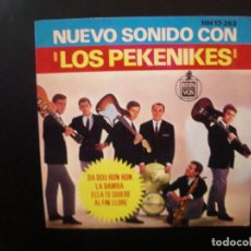 Discos de vinilo: LOS PEKENIKES- NUEVO SONIDO. EP.JUAN PARDO.. Lote 140402574