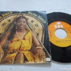 Discos de vinilo: ANNA MWALE. MAMA MWALE.. Lote 140407594