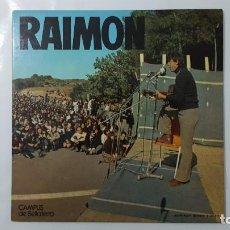Discos de vinilo: LP / RAIMON / CAMPUS DE BELLATERRA. Lote 140408546