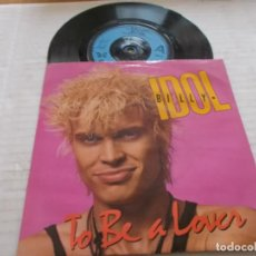 Discos de vinilo: BILLY IDOL. TO BE A LOVER. Lote 140408566