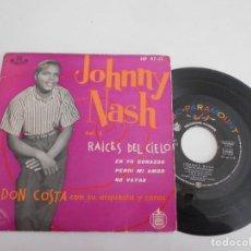 Discos de vinilo: JOHNNY NASH-EP RAICES DEL CIELO +3. Lote 140409418