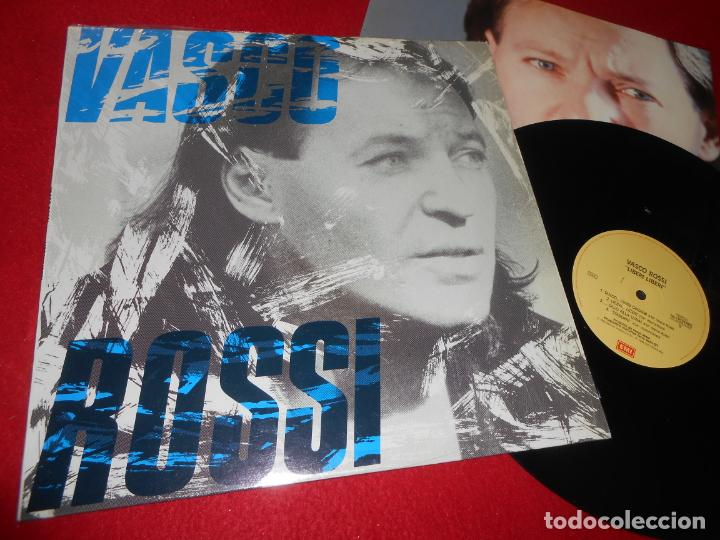 VASCO ROSSI LIBERI LIBERI LP 1989 EMI EDICION ITALIA ITALY (Música - Discos - LP Vinilo - Canción Francesa e Italiana)