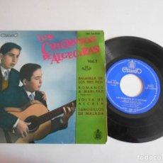Discos de vinilo: LOS CHIQUITOS DE ALGECIRAS-EP VOL.1-1961. Lote 140411638