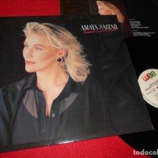 Discos de vinilo: AMAYA SAIZAR TENGAMOS LA GUERRA EN PAZ LP 1990 WEA EDICION ALEMANA GERMANY. Lote 140414346