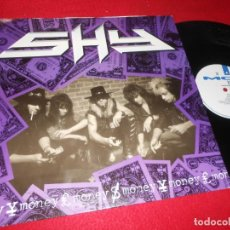 Discos de vinilo: SHY MONEY/YOU WANT IT/MAKE MY DAY (LIVE) 12'' MX 1990 MCA EDICION UK. Lote 140414786