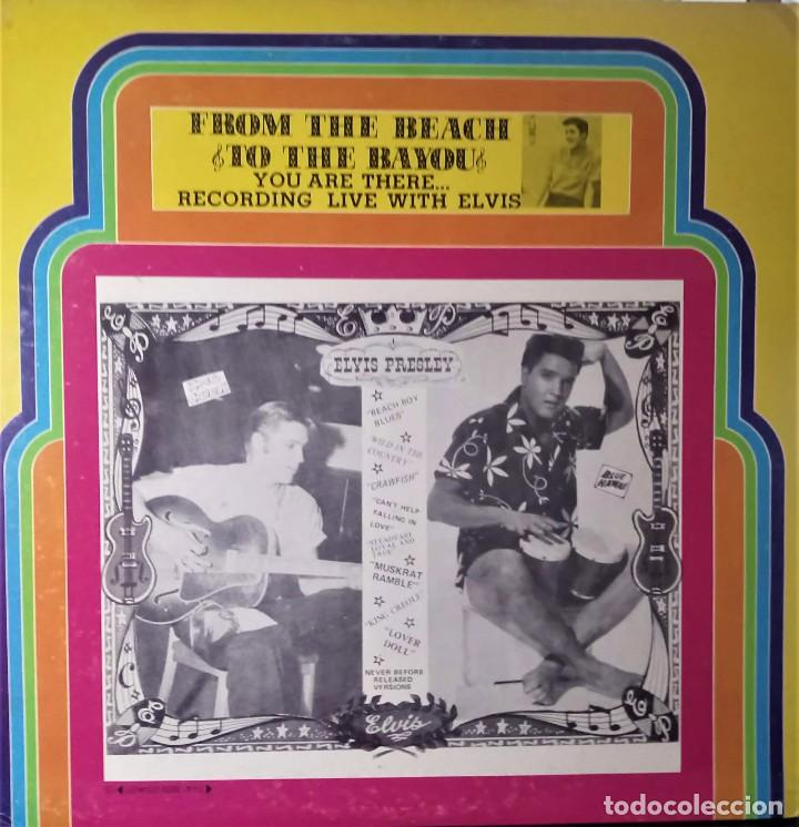 ELVIS PRESLEY - FROM THE BEACH TO BAYOU - LP EDITADO EN USA. (Música - Discos - LP Vinilo - Rock & Roll)