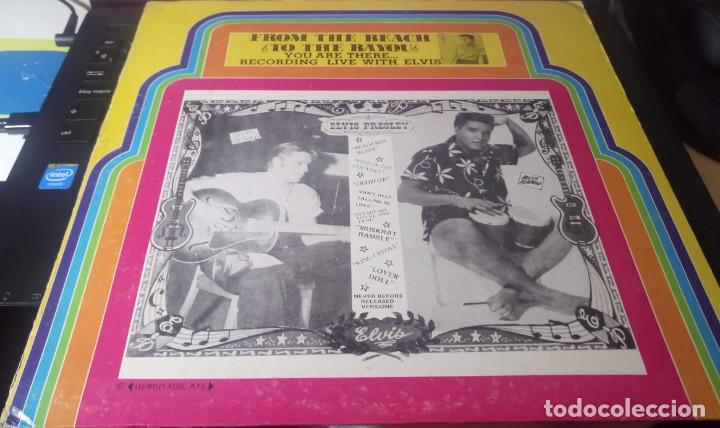 Discos de vinilo: ELVIS PRESLEY - FROM THE BEACH TO BAYOU - LP EDITADO EN USA. - Foto 2 - 140416810